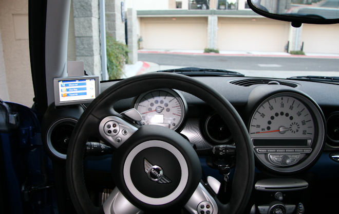 diy garmin nuvi gps mount north american motoring. Black Bedroom Furniture Sets. Home Design Ideas